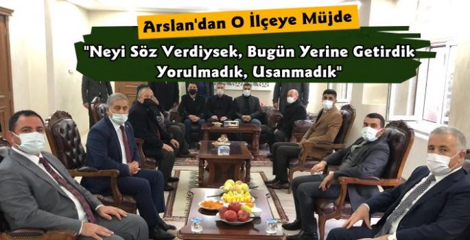 Ahmet Arslan'dan Kağızman Kaymakamına Hayırlı Olsun Ziyareti