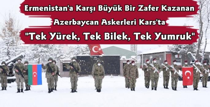 Azerbaycan Askerleri Kars'ta
