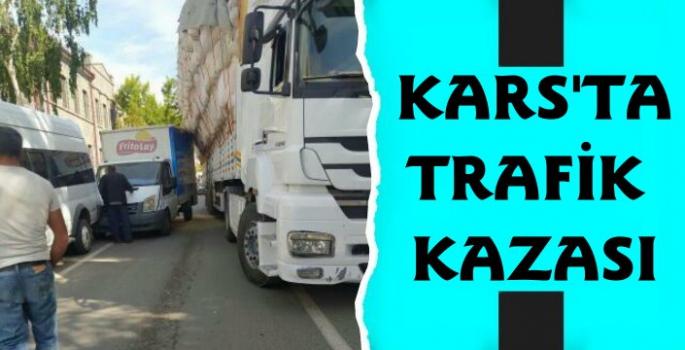 Faikbey Caddesi'nde Trafik Kazası