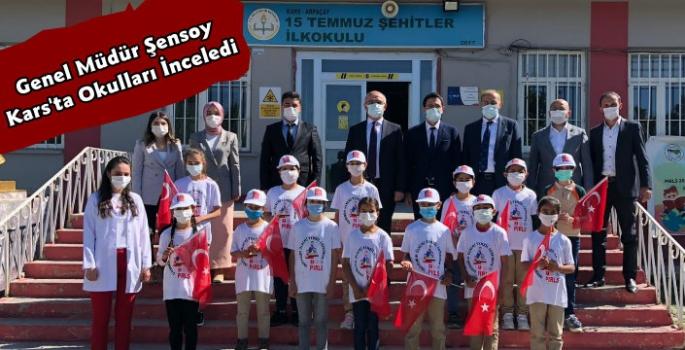 Genel Müdür Sadri Şensoy'dan Kars'ta Okul İncelemesi