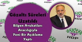 Gözaltında Bulunan Belediye Başkanı Ayhan Bilgen'den Yeni Açıklama