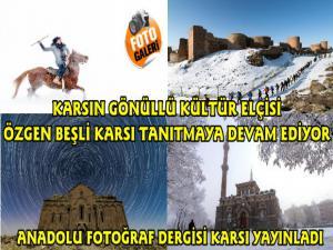Anadolu Fotoğraf Dergisi Özgen Beşli'nin Kars Fotoğraflarını Yayınladı