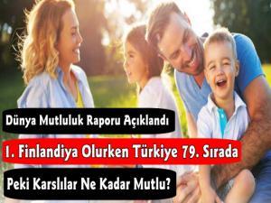 Dünya Mutluluk Sıralaması Açıklandı Türkiye 79. Sırada