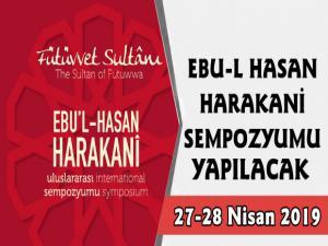 Ebu'l Hasan Harakani Tasavvuf Araştırmaları Günleri 2019 Başlıyor