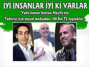 Haluk Levent Vanlı Kanser Hastası Nazife Bayır İçin Sosyal Medyadan 100 Bin TL Topladı