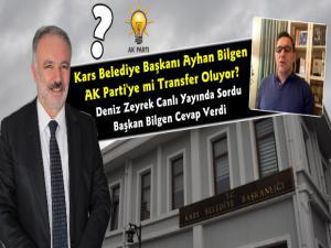 HDP'li Kars Belediye Başkanı Ayhan Bilgen AK Parti'ye mi Geçiyor?