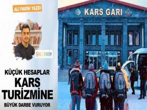 İnternethaber'in Editörü Ali Parim Kars'ın turizmindeki sorunlara parmak bastı.