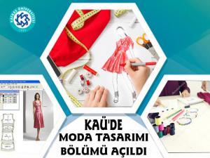 Kafkas Üniversitesinde Moda Tasarım Bölümü Açıldı