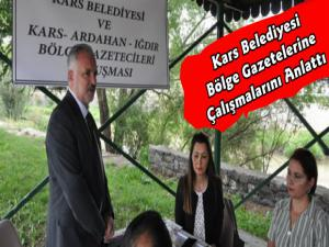 Kars, Ardahan ve Iğdır Bölge Gazetecileri Buluşması Gerçekleştirildi