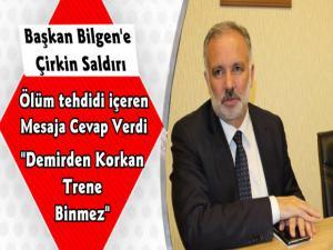 Kars Belediye Başkanı Ayhan Bilgen'e Sosyal Medya Hesabından Çirkin Saldırı