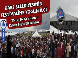Kars Belediyesinin Serhat Doğa ve Kültür Festivali Coşkuyla Gerçekleştirildi