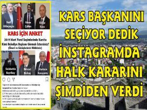 Kars Güncel Kars'ın Belediye Başkan Adaylarını Sordu