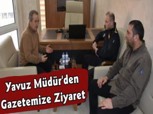 Kars İl Emniyet Müdürü Yavuz Sağdıç'tan Kars Güncele Ziyaret