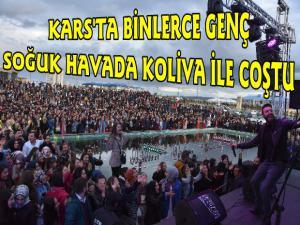 Kars'ta Koliva Konseri Gençleri Coşturdu