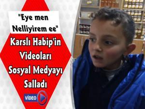 Kars'ta Minik Habip'in Terekemece Videoları Sosyal Medyayı Salladı