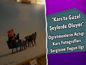Kars'ta Öğretmenlerin Fotoğraf Sergisine Yoğun İlgi