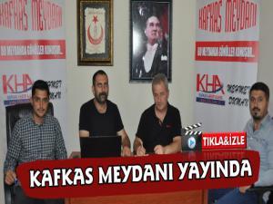 Karsın İlk Sosyal Medya Programı Kafkas Meydanı Yayında