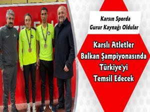Karslı Atlet Tuğba Toptaş ve Hakan Buğanlı'dan Büyük Başarı