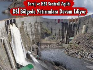 Köroğlu Barajı ve Kotanlı HES Santrali Hizmete Açıldı