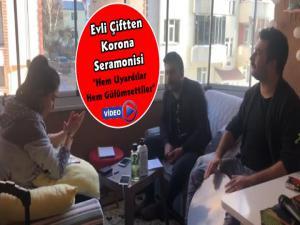 Korona Türküsüyle Vatandaşlara Evden Çıkmayın Çağrısı