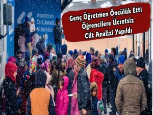 Mehmet Öğretmen'den Atoderm Senin Şehrinde Etkinliği