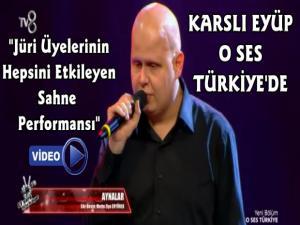 O Ses Türkiye Yarışmasına Karslı Eyüp Sultan Aylar Damga Vurdu!