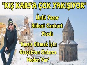 Sabah Gazetesi Yazarı Bülent Cankurt Doğu Kars Gezisini Yazdı