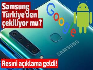Samsung Türkiye'den Google Açıklaması