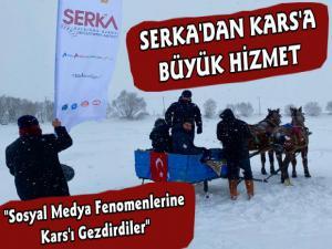 SERKA Sosyal Medya Fenomenlerini Kars'a Getirdi