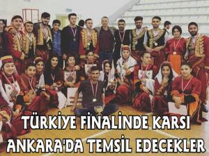 Türkiye Finalinde Karsı temsil etmek için Ankara'ya gidiyorlar