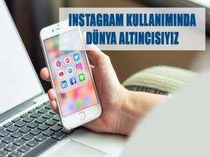 Türkiye Instagram Kullanımında Dünya Altıncısı