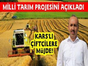 Kars'lı Çiftçilere Müjdeli Haber