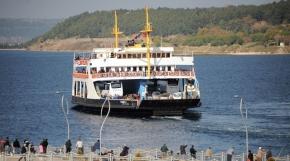 Çanakkale'de bazı feribot seferleri iptal edildi