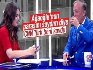 Ağaoğlu'nun paralarını saydı CNN Türk'ten kovuldu
