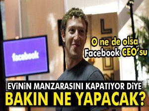 Facebook CEO'su satın aldığı 4 evi yıkacak