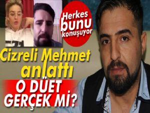Ünlü ingiliz sanatçı ile düet yapan Cizreli Mehmet, şarkıcıyı Türkiye'ye davet etti