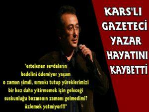 Kars'lı Usta Gazeteci Vefat Etti
