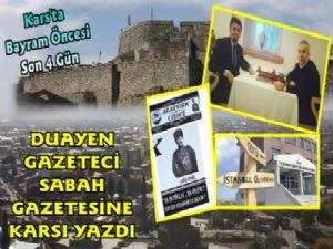 Duayen Gazeteci Yavuz Donat Karsı Kaleme Aldı