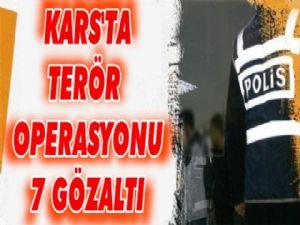 Polis'ten Şafak Operasyonu!  7 gözaltı