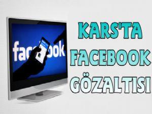 Kars'ta Facebook Paylaşımına Gözaltı