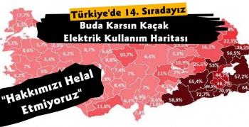 İşte Kars'ın Kaçak Elektrik Kullanım Haritası
