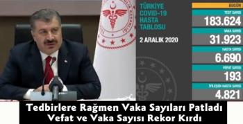 Bakan Koca Açıkladı Vaka ve Vefat Sayısı Rekor Kırıyor
