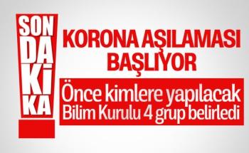 Bakan Koca Türkiye'de Koronavirüs Aşısının Uygulama Aşamalarını Açıkladı