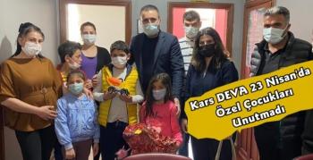 Başkan Özen'den 23 Nisan'da Özel Çocuklara Ziyaret