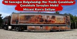 Çanakkale Savaşları Mobil Müzesi 23-24 Eylül'de Kars'ta Olacak