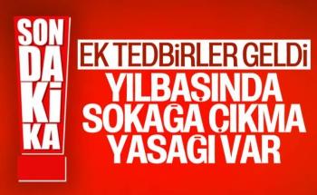 Cumhurbaşkanı Erdoğan Açıkladı Yılbaşında Sokağa Çıkma Yasağı Getirildi