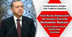 Cumhurbaşkanı Erdoğan Yeni Koronavirüs Tedbirlerini Açıklıyor