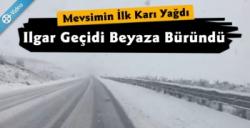 Doğu Anadolu'da Mevsimin İlk Karı Yağdı