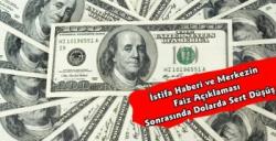 Dolar'da Sert Düşüş