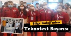 Erzurum Bilge Koleji'nin Teknofest Başarısı